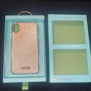 COPY - Kate Spade IPHONE XS MAX WRAP CASE. NWT